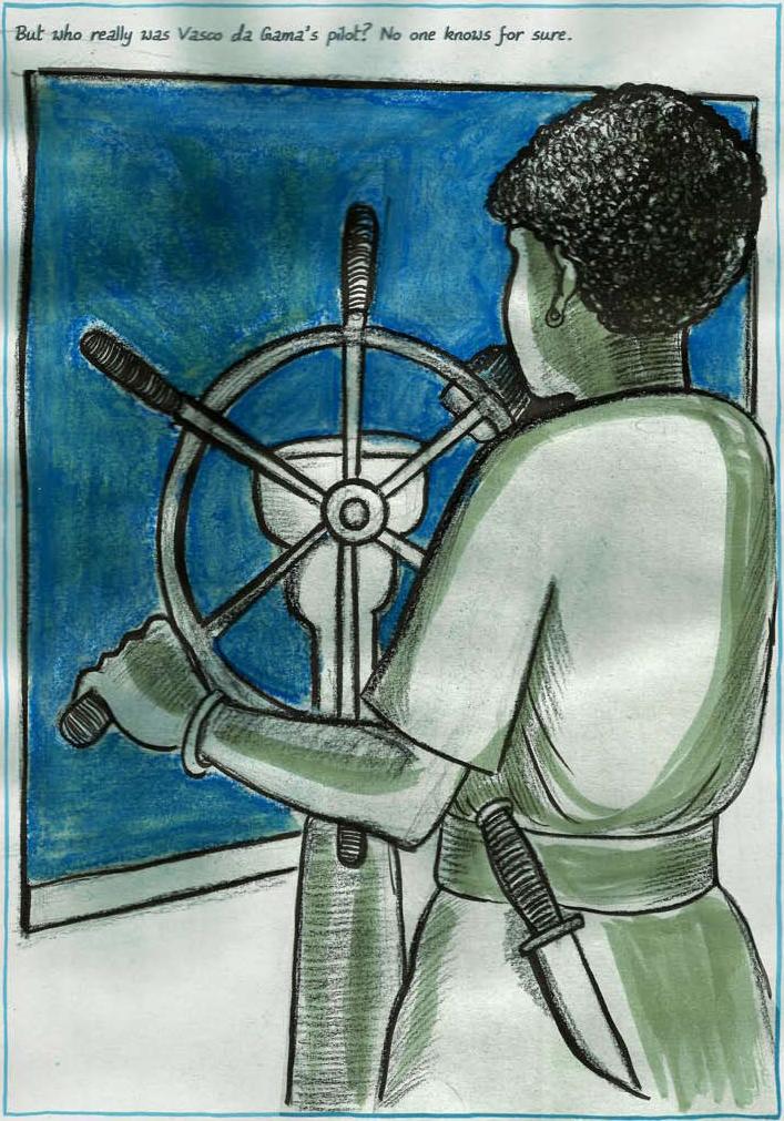 """Liquid History of Vasco da Gama"" by Sarnath Banerjee"
