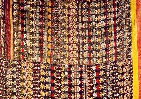 Vrindavani Vastra. Picture courtesy: British Museum