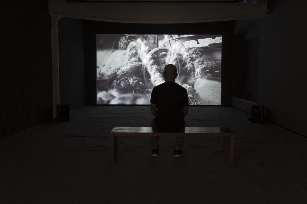 """""""MachineMatter"""" installation view"""